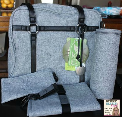 lassig diaper bag grey must have mom. Black Bedroom Furniture Sets. Home Design Ideas