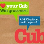 Love Your Cub Contest ~ $4,500 Cub Foods Gift Card Giveaway!