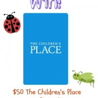 Win $50 The Children's Place Gift Card from Must Have Mom!