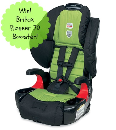 Win a Britax Pioneer 70 Booster from Must Have Mom!