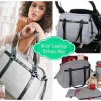 Lassig Green Label Urban Bag Rocks Style & Function! {Review & Giveaway $154 Value}