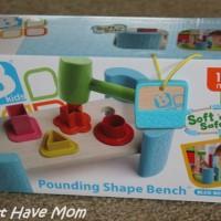 BKids Pounding Shape Bench Review + Discount Code!