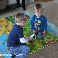 Open Up Your Child's World With The i-Mat: My Animal World! {Review &  $80 Value Giveaway!}