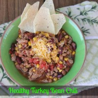 Healthy Turkey Bean Chili