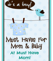 Must Haves for Mom & Baby Event