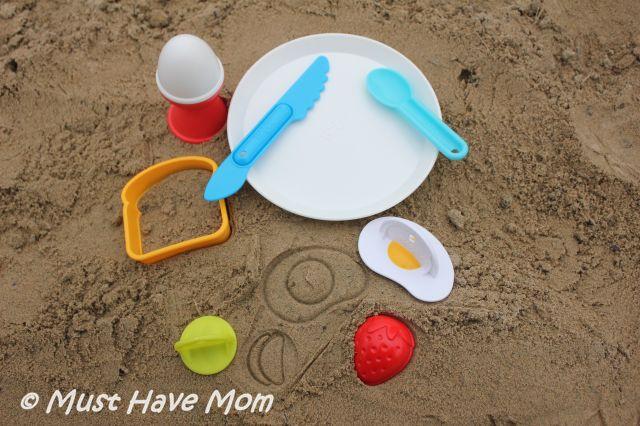 Sand Play Fun With HABA Sun Bistro Big Sand Breakfast!
