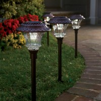 Plow & Hearth Solar Path Lights {Review & $50 Gift Card Giveaway}
