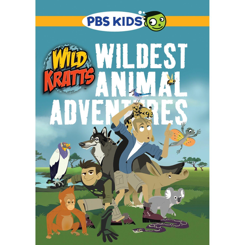 wild kratts wildest animal adventures box set