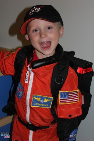 how to make a sally ride costume