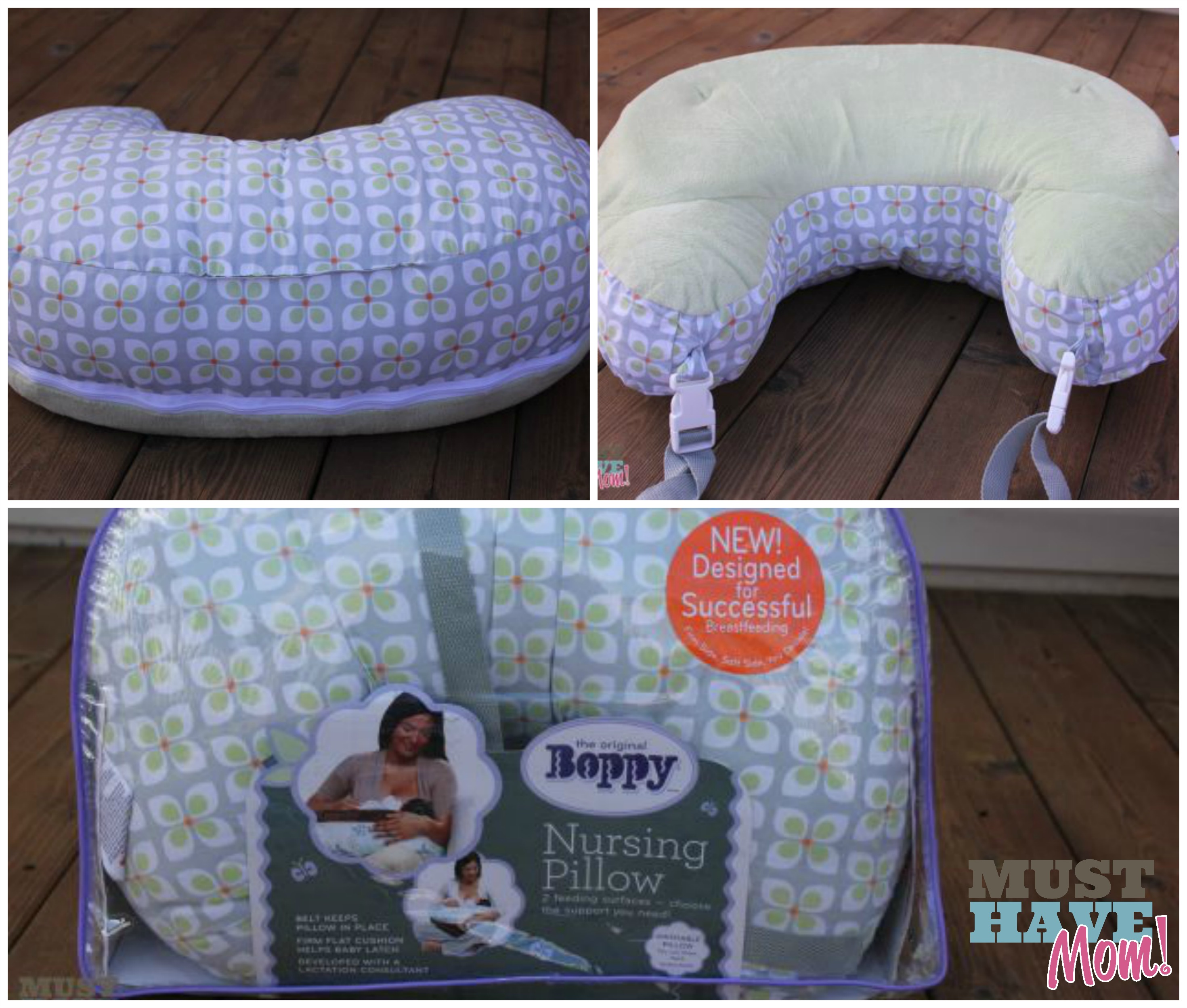 Boppy New Nursing Pillow