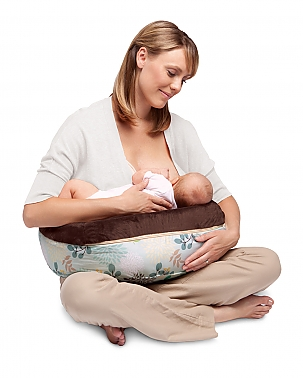 Boppy nursing pillow new