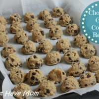 BEST Chocolate Chip Cookies Recipe ~ Chocolate Chip Cookie Dough Freezer Recipe