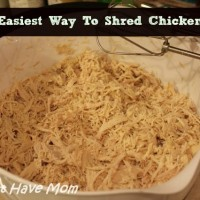 The Easiest Way To Shred Chicken!