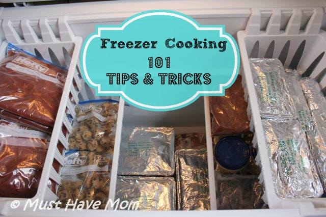 Getting Started Freezer Cooking: 101 Tips & Tricks