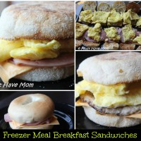 Freezer Breakfast Sandwiches Recipe