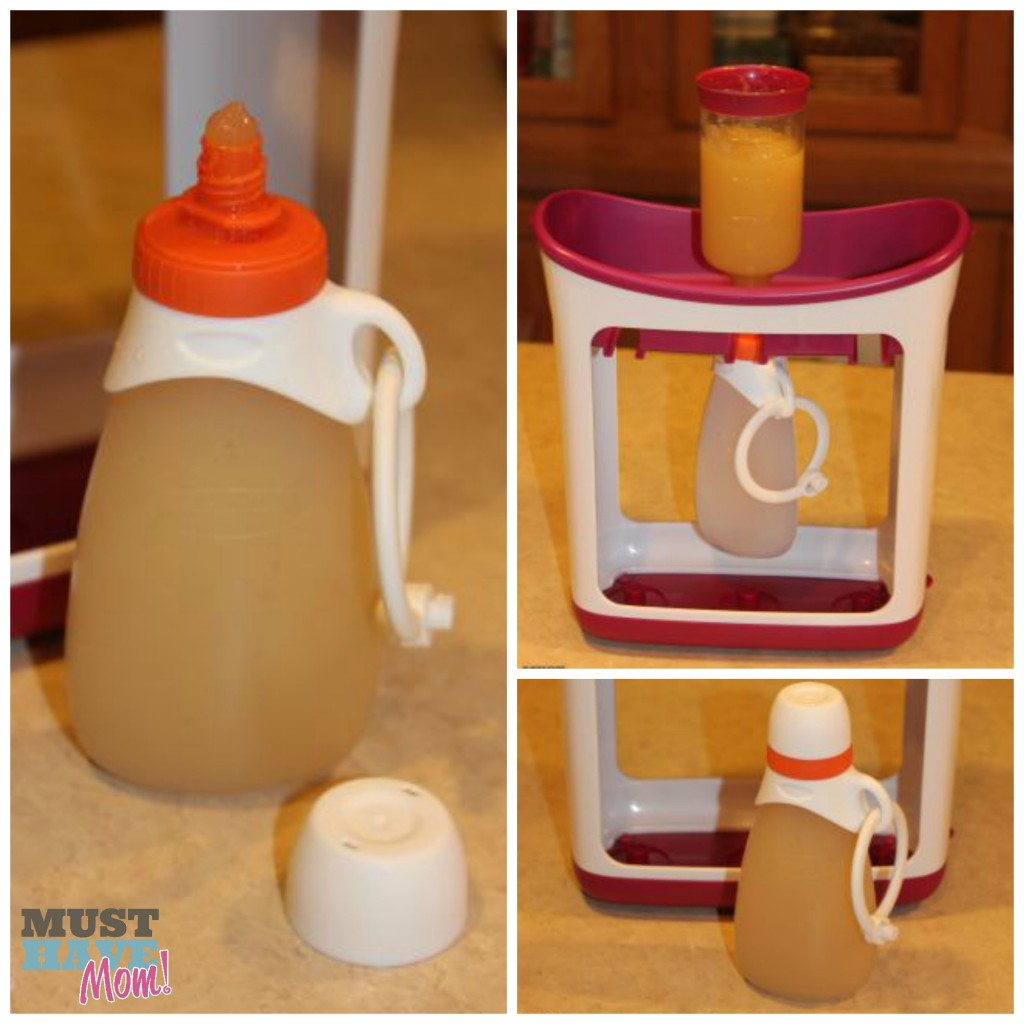 Infantino Fresh Squeezed Keeper Squeeze Pouch