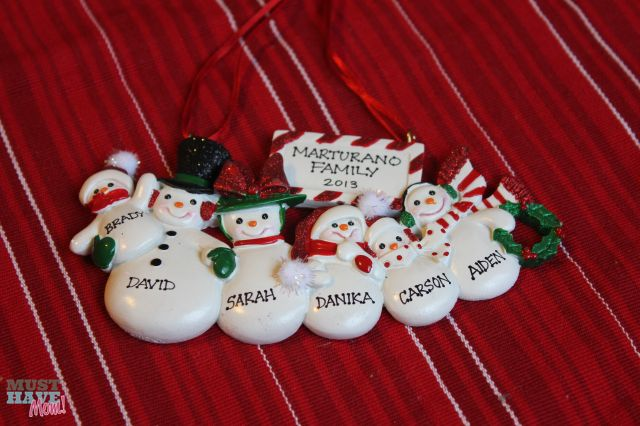 personalized ornaments from ornaments with love great. Black Bedroom Furniture Sets. Home Design Ideas