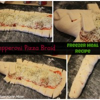 Pepperoni Pizza Braid Freezer Meal Recipe