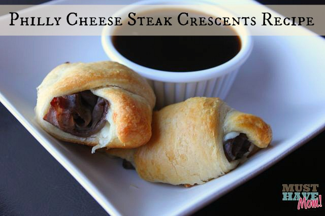 Philly Cheese Steak Crescents Recipe