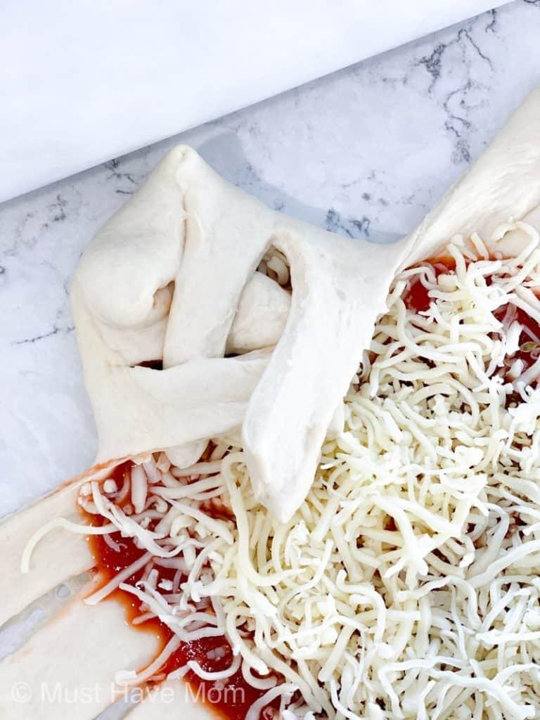 how to braid pizza braid