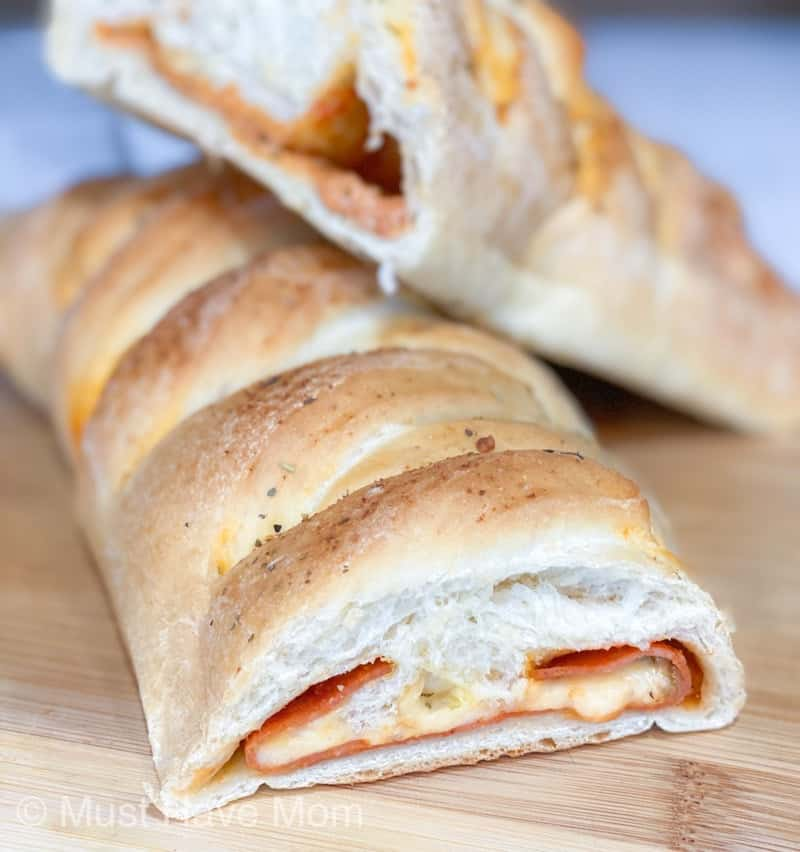 bake pizza braid