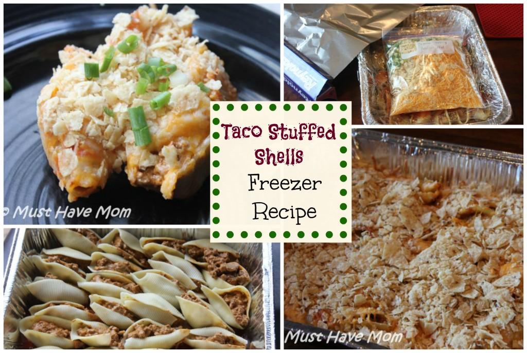 Taco Stuffed Shells Freezer Recipe