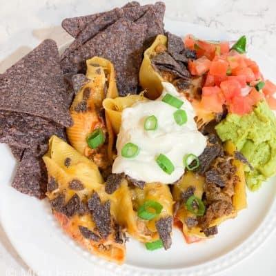 freezer meal taco shells