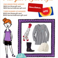 $250 Umi Shoes & $250 Hanna Andersson Gift Cards Giveaway!