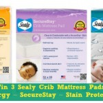 Must Haves For Mom & Baby: Sealy Crib Mattress Pad Comparisons {Plus Giveaway of ALL 3!!}