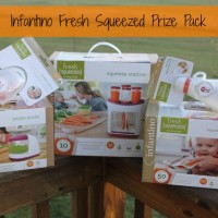 Infantino Fresh Squeezed Baby System Lets You Make Your Own Squeeze Pouches At Home! {Review & Giveaway!}