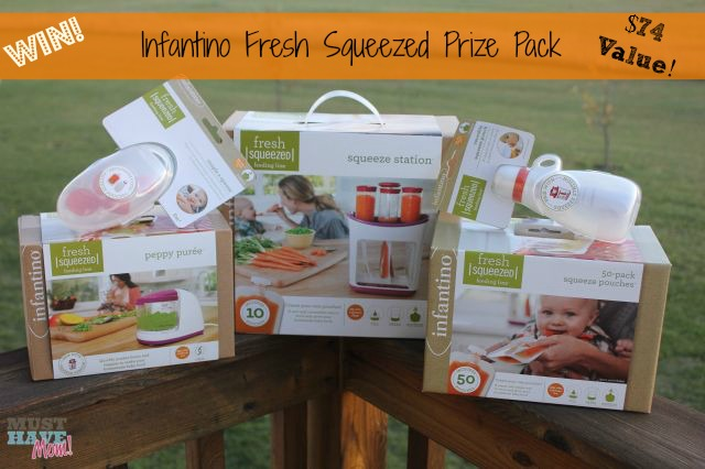 Win Infantino Fresh Squeezed Prize Pack from Must Have Mom! $74 Value Ends 11/6