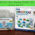 Must Haves For Mom & Baby Event: The First Years GumDrop Bottles & First Aid Kit! {Review & Giveaway}