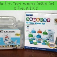 Win The First Years GumDrop Bottles Set and First Aide Kit from Must Have Mom! Ends 11-6