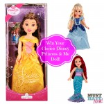 Disney Princess & Me 18 Inch Doll! {Review & Giveaway!}