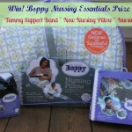 Must Haves for Mom & Baby Event: Nursing Essentials from Boppy + Boppy New Nursing Pillow! {Review & Giveaway}