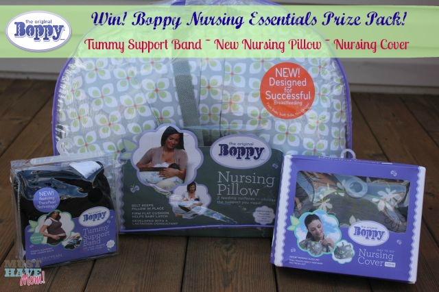Win a Boppy Nursing Essentials Prize Pack from Must Have Mom! Ends 11-18