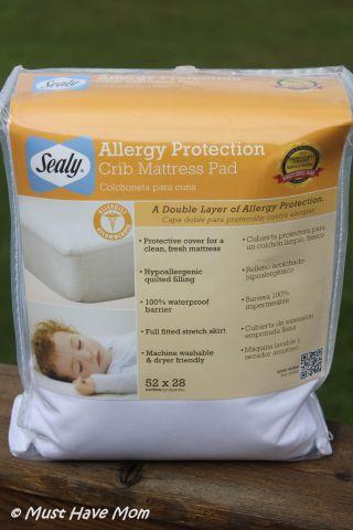 Sealy Crib Mattress Protection Pad