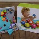 Must Haves for Mom & Baby Event: Lamaze Franky the Hanky Whale + TOMY Toys Octopal Squirters! {Review & Giveaway!}