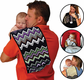 Win a K'tanCloth 3-in-1 Nursing Cover, Burp Cloth, Blankie from Must Have Mom! Ends 11/27