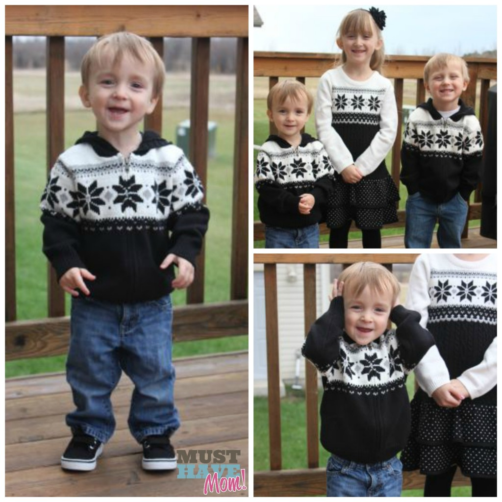 Dressing Siblings In Coordinating Gymboree Holiday Outfits For ...