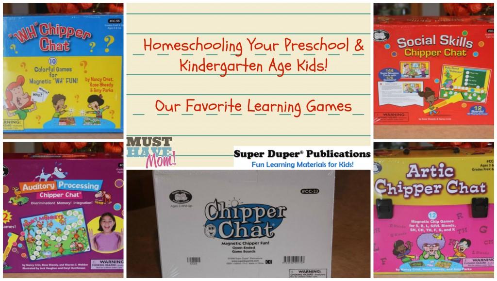Homeschooling Your Preschool and Kindergarten Age Kids from Must Have Mom
