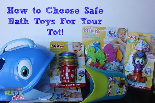 Choosing safe bath toys for your kids and why you should be cleaning