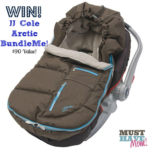 Win A JJ Cole Arctic BundleMe For Car Seat and Stroller from Must Have Mom! Ends 11-25