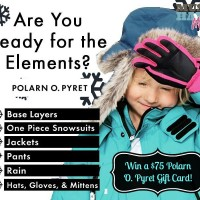 Keep Warm This Winter With Layers From Polarn O. Pyret! {Polarn O. Pyret Jacket Review & $75 Giveaway!}