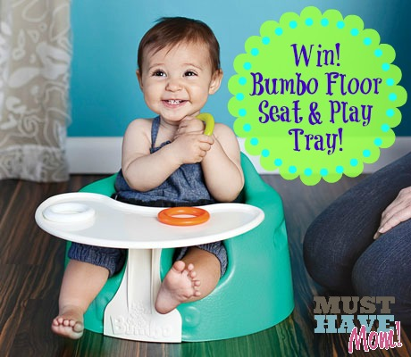 Win a Bumbo Floor Seat & Play Tray at Must Have Mom! Ends 11-18