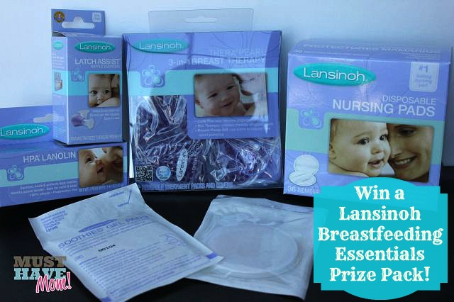 Win a Lansinoh Breastfeeding Essentials Prize Pack from Must Have Mom! Ends 11-27
