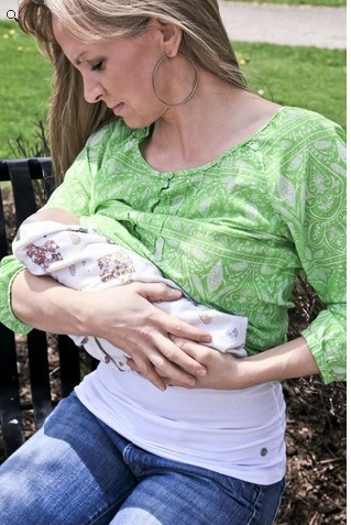 Must Haves For Mom & Baby: Milk & Baby Nursing Tank