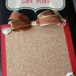 Easy DIY Holiday Cork Board Perfect For Teacher Gifts!