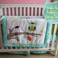 Baby's Crib Bedding Reveal! Choosing Gender Neutral Crib Bedding for Boy/Girl Siblings That Share Rooms! {+ Beyond Bedding Giveaway!)