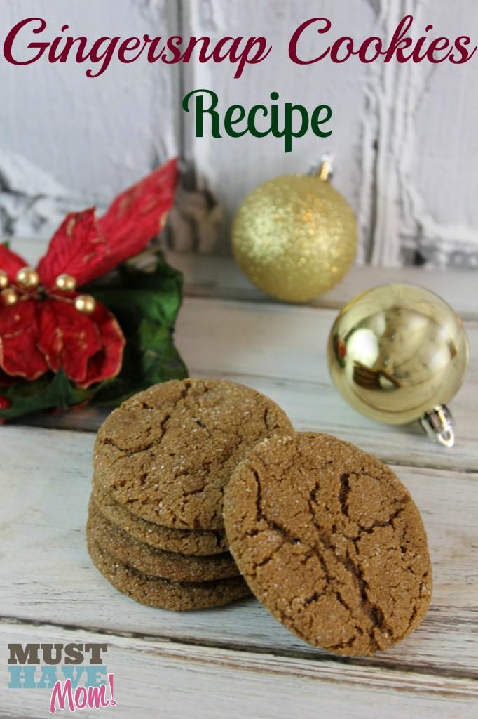 The Best Gingersnap Cookies Recipe